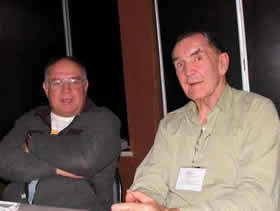 Al Carvajal and Larry at ACCF 2009