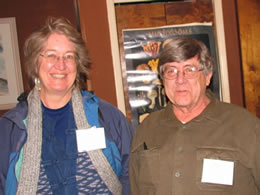 Humboldt Bay Mycological Society pariticipants Cynthia and Don